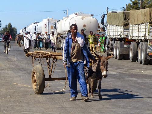sur la route Addis Abeba-Djibouti