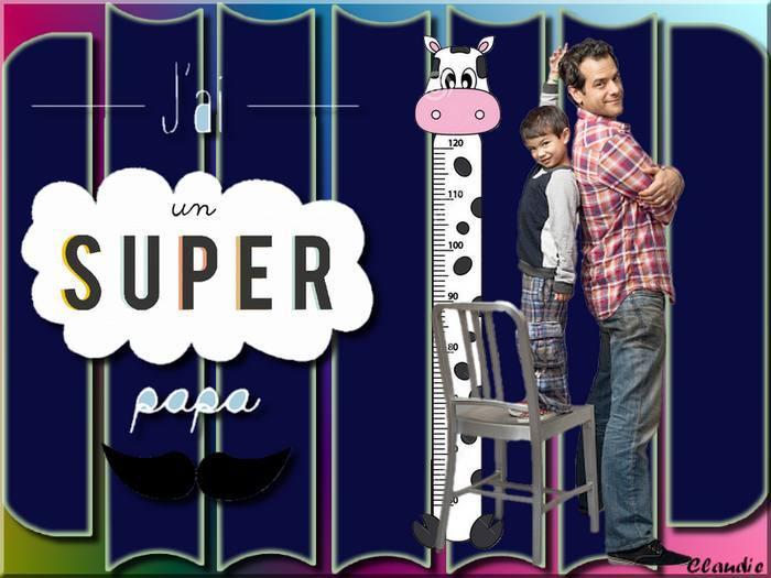 Galerie défi 8 Super papa !