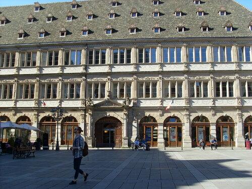 Strasbourg Fin de la croisière, visite de la ville