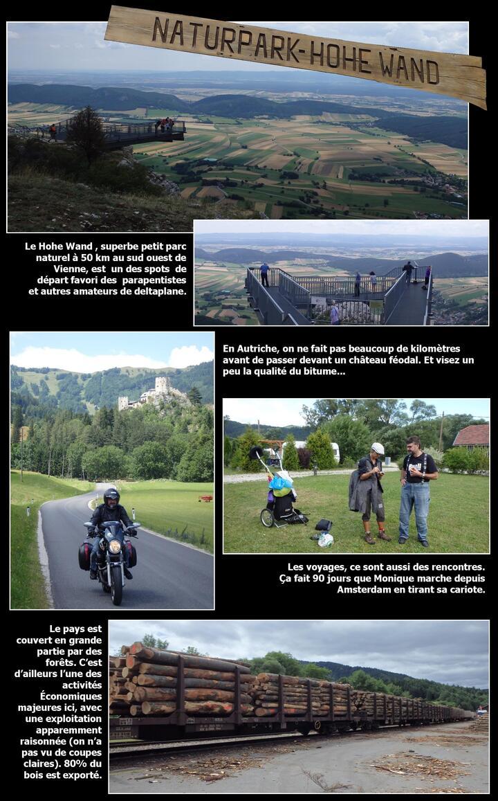 Suisse/Autriche à moto : humide et superbe