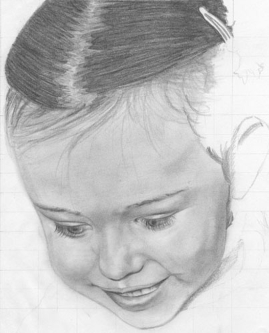 dessiner un visage étape par étape