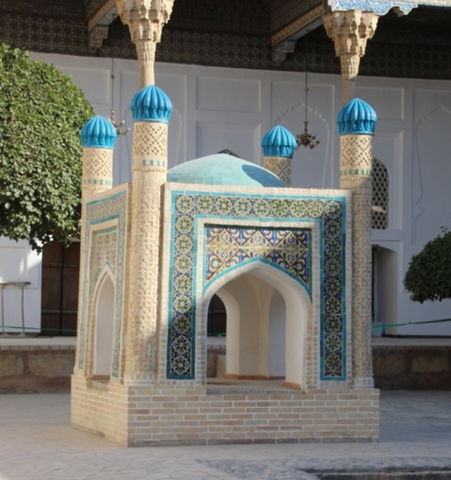 Boukhara : le mausolée Bakhaouddin Nakchbandi