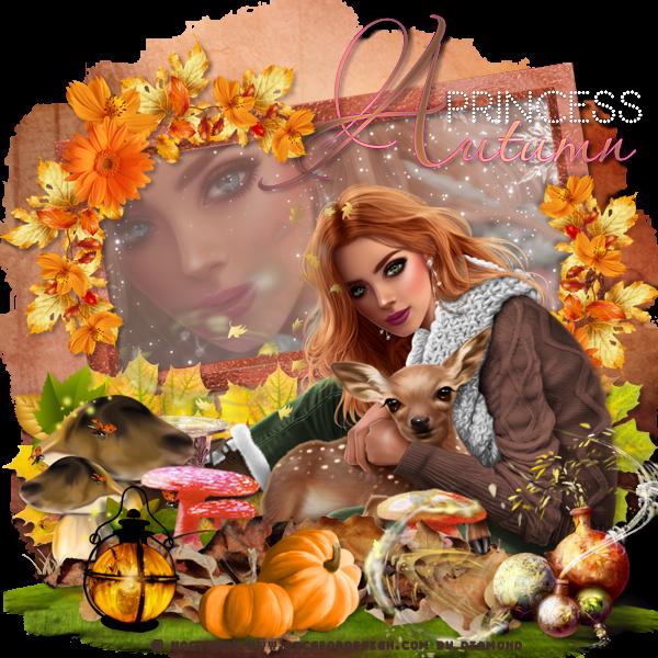 """Mon nouveau tag """"Autumn Princess"""""""