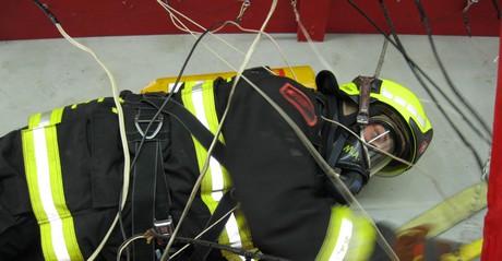 Formation d'auto-sauvetage pour les pompiers