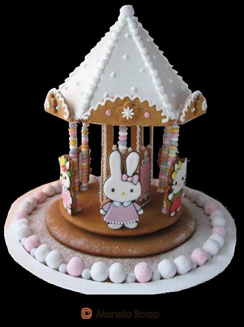 Pâques Page 11 - Biscuits de Pâques décoré avec du sucre glace
