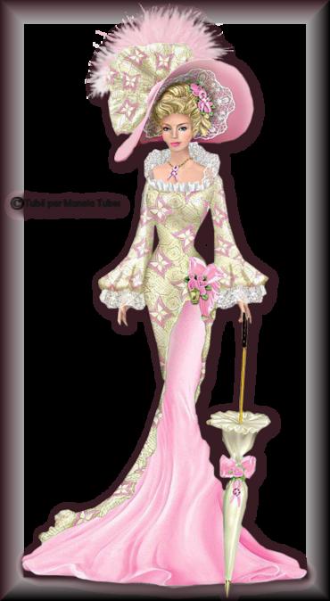 Tube Femme vintage en robe 2988