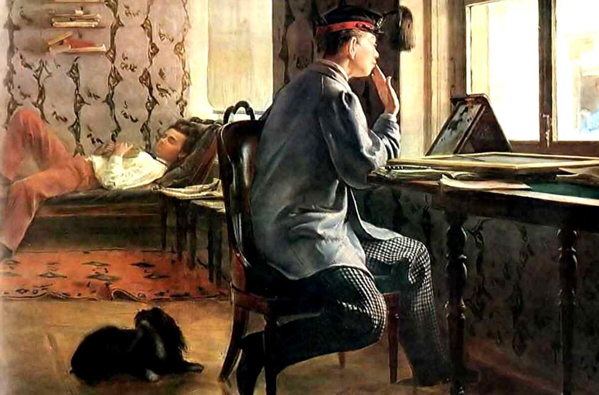 8-Ilya Repin / un russe peu connu...