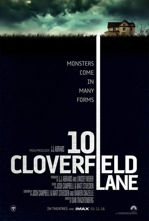 J'ai vu : 10 Cloverfield Lane