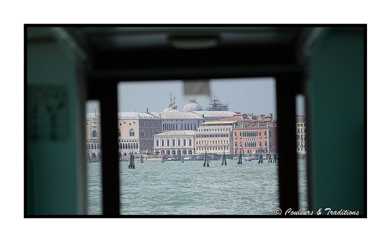 L'ile du Lido face à Venise