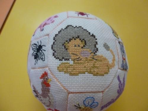 Joséphine et sa superbe quaker ball pour ses petites filles