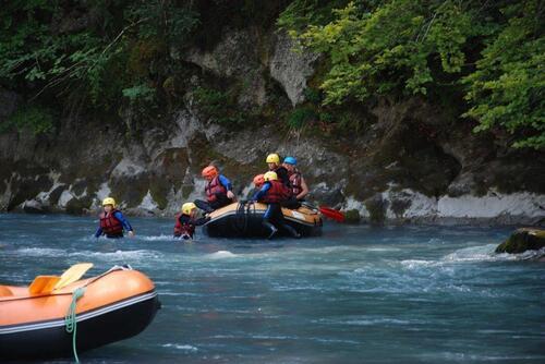 Rafting sur le Giffre
