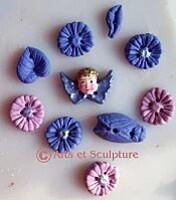 boutons originaux à faire soi même dans nos moules silicone - Arts et Sculpture: sculpteur mouleur