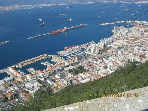 Visite à Gibraltar
