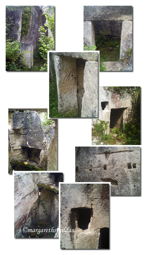 Maisons des Carriers (Dordogne) - Houses of the Quarrymen (Dordogne)