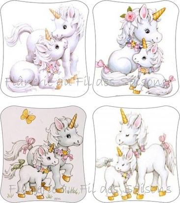 Petite Licorne ! cartonnettes
