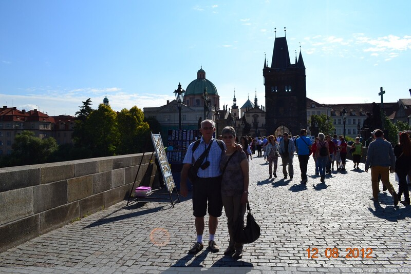 2012 VISITE DE PRAGUE AVEC MES AMIS