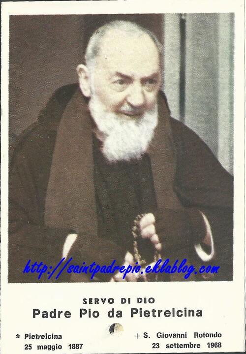 Preghiera per ottenere la glorificazione di Padre Pio