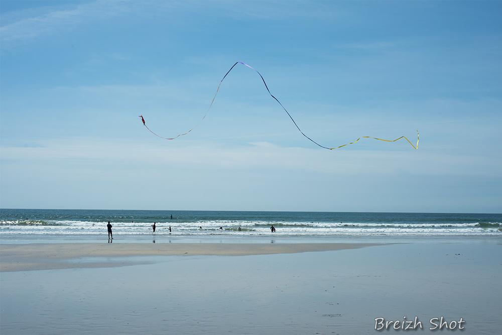 surf et cerf-volant à Kéragan