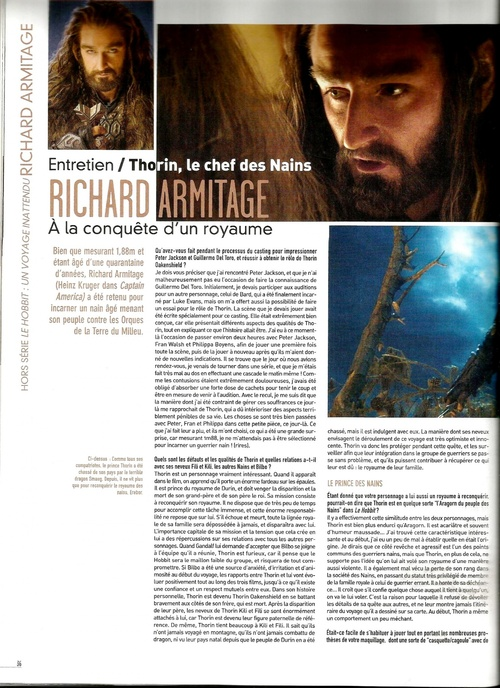 Richard Armitage est Thorin