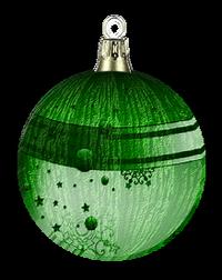 Tubes boules  sapins de Noël