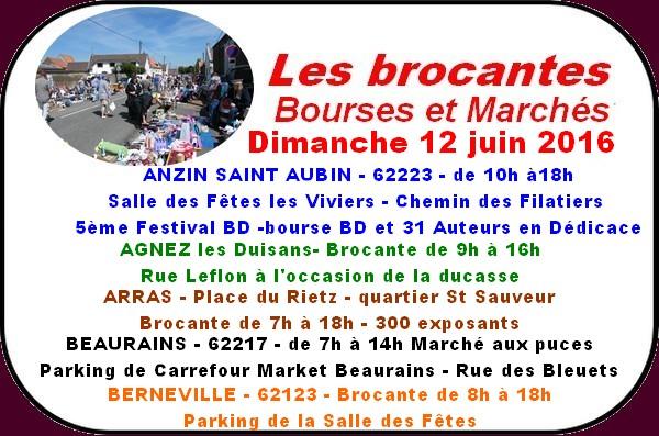 Brocantes et Animations à Arras et ses environs ce week-end