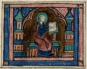 Saint Jacques le Mineur écrivant