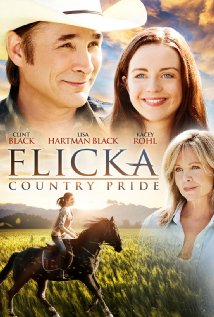 Lisa Hartman et Clint Black dans Flicka 3.