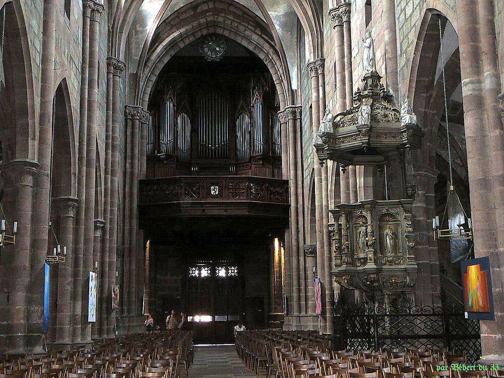 L'église Saint Georges de Sélestat -3