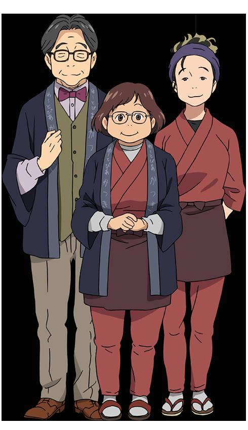 Famille de Yûri Katsuki