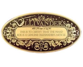 ollivander etiquettes