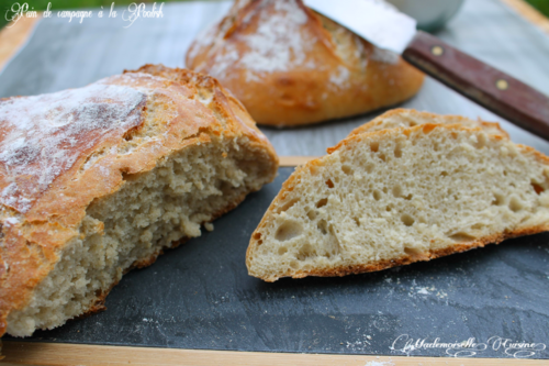 Pain de campagne au poolish