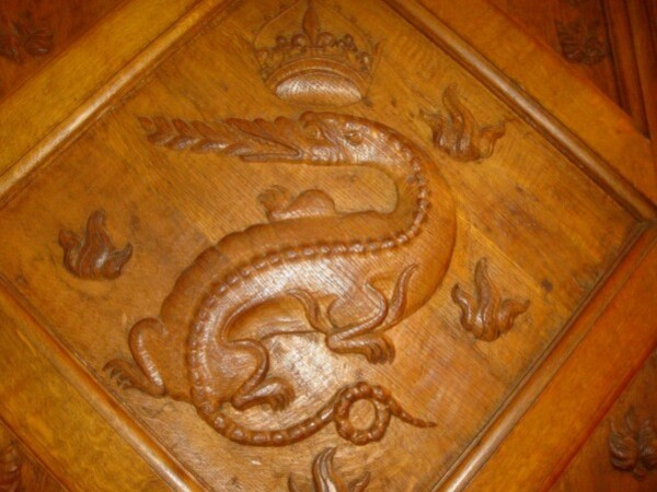 Chambord, la salamandre