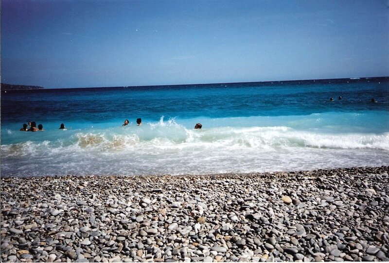 été 2007 - vacances à Nice chez Gisèle