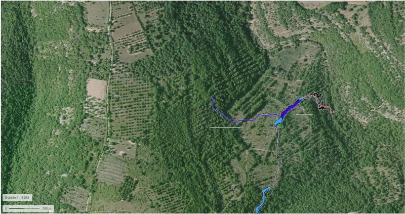 Gouffre de l'Oule réseau du Lantouy
