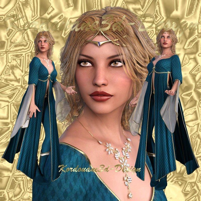 Violaine Image femme elfe (tube-png)