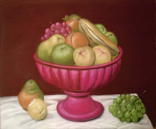 Fernando Botero (1932- ) - L'Anti Giacometti...