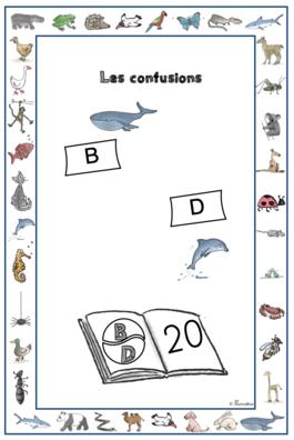 Lire - confusions B et D