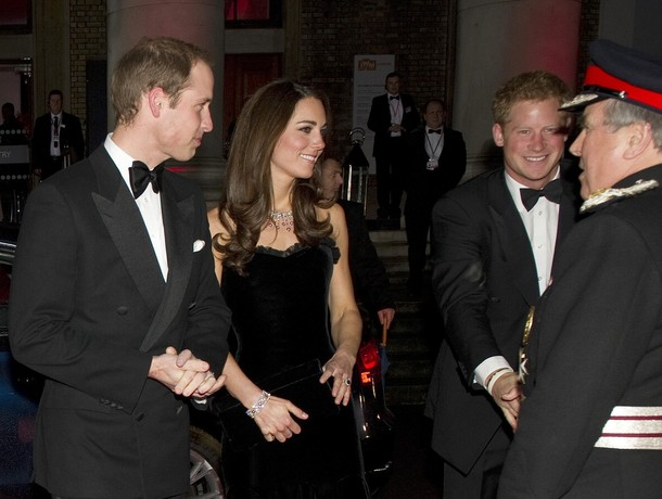 Kate, William et Harry