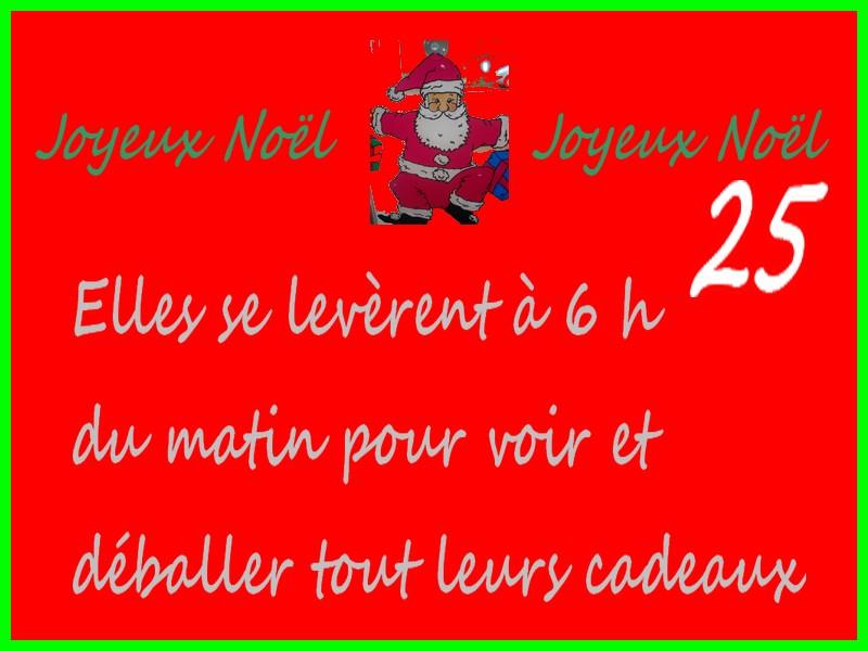 Joyeux Noël, 25 ème jour