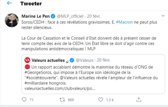 """Philippe de Villiers : """"George Soros est beaucoup plus puissant qu'Emmanuel Macron"""""""