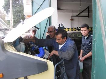 035 Maroc Rabat Réparation fuite d'huile