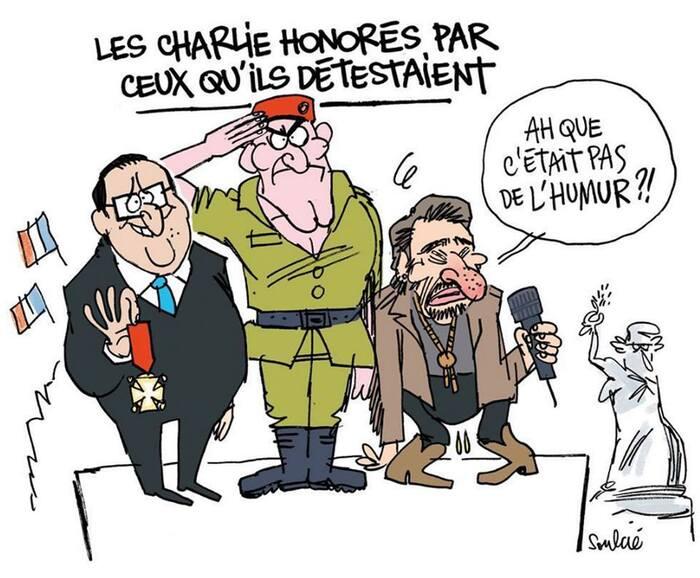 Le caricaturiste Cabu est décédé, à l'âge de 75 ans, dans l'attaque terroriste du 7 janvier 2015 « Mon antimilitarisme, je le tiens de la guerre d'Algérie »