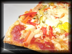 Pizza épicée