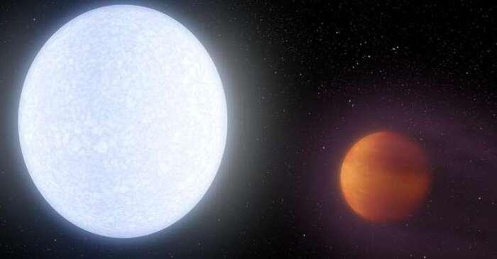 Voici l'exoplanète la plus chaude jamais découverte... KELT-9b