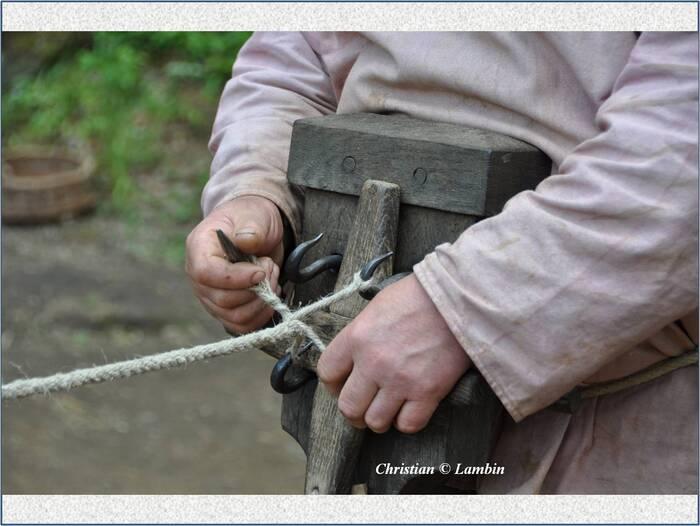 Les métiers de Guédelon (III/V)
