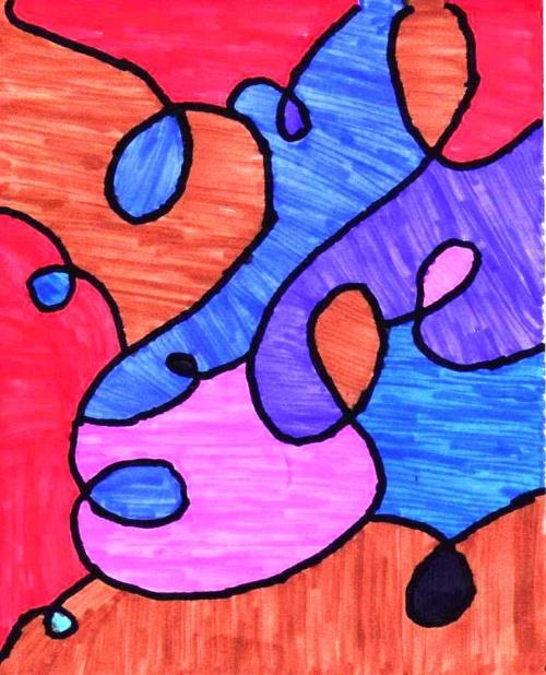 Colorier des espaces délimités