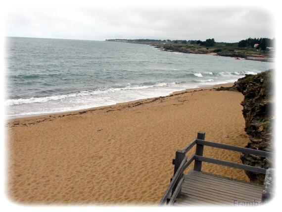littoral du Porteau au Portmain à Pornic