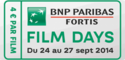 Affiche BNP Paribas Fortis FILM DAYS