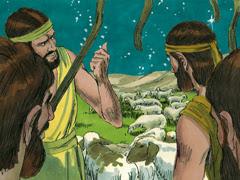 La naissance de Jésus (Illustration)