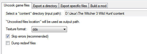 Importer les modèles 3D de The Witcher 2 & 3